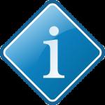info-schild